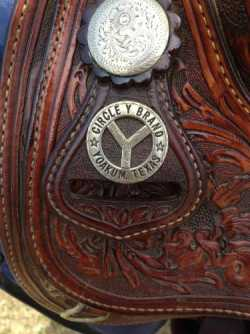 Circle Y Western Pleasure/Horsemanship Saddle